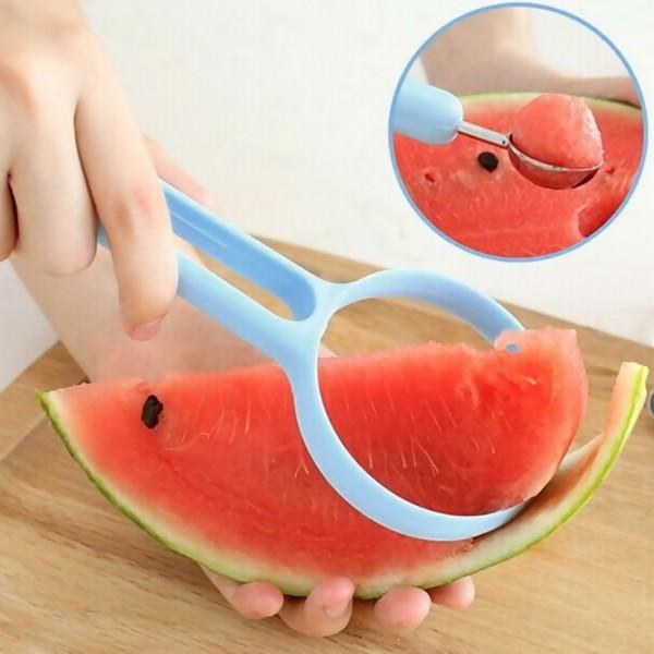 Fruit Peeler + Melon Scoop Ballers, Random Color, 2PCs/Set
