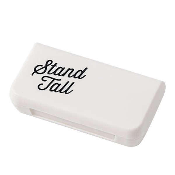 Stand Tall Mini Pill Case Portable Medicine Boxes 3 Grids Travel Home Medical Drugs Tablet Empty Container Storage Box